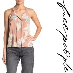 Free People Line Up Floral Cami